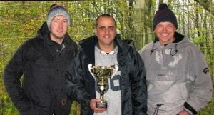 The quickest up the hill and the trophy winners