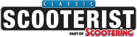 Classic Scooterist Magazine Logo 2020