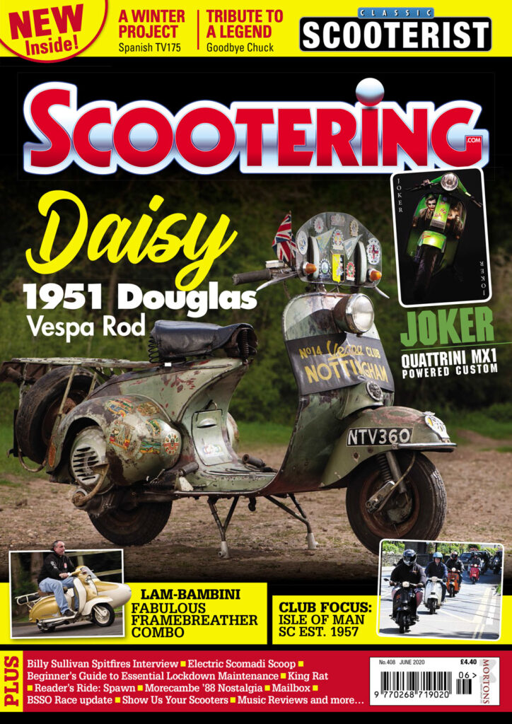 June edition of Scootering